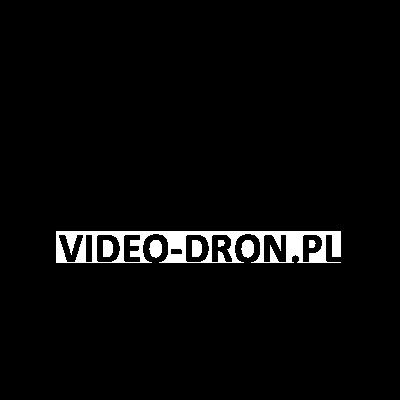 Video Dron – logo – czarne