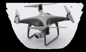 Zdjecia z drona, film z drona, dji phantom 4 pro+